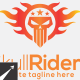 Skull Riders Logo Template - GraphicRiver Item for Sale