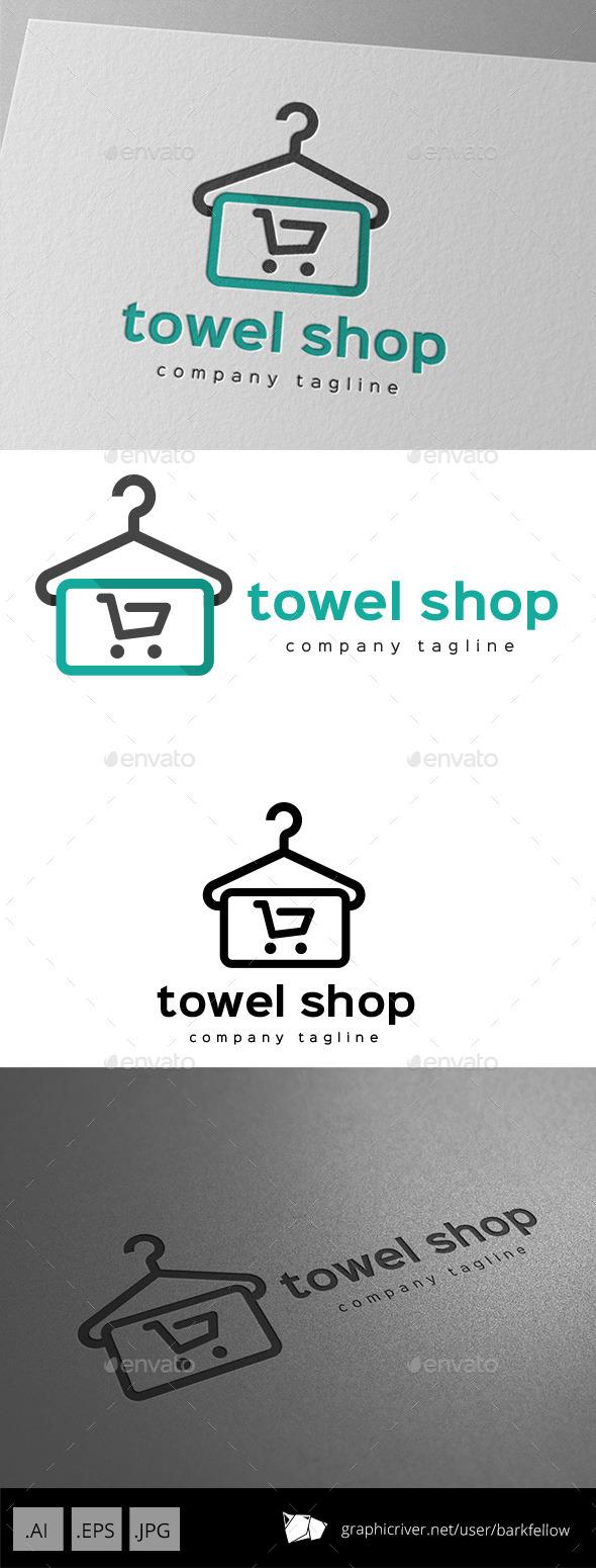Towel Shop Logo Design
