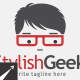 Stylish Geek Logo Template - GraphicRiver Item for Sale