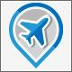 Flight Booking Tour Service Logo Design - GraphicRiver Item for Sale