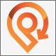 Turnaround Location Direction Logo Design - GraphicRiver Item for Sale