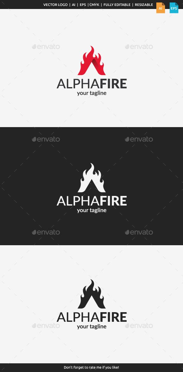 Alpha Fire Logo