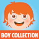 Cute Manga Boy Collection - GraphicRiver Item for Sale