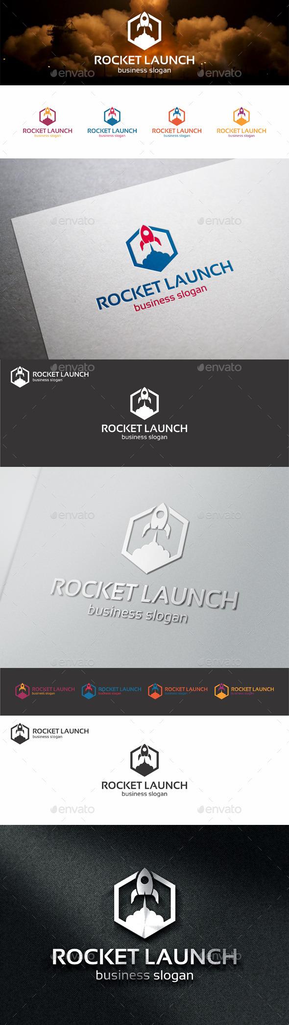Rocket Launch Web Logo