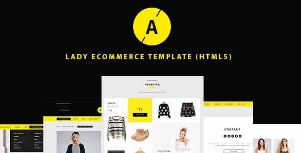 Lady | e-Commerce Shop Responsive Site Template