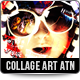 Collage Art Photoshop Action - GraphicRiver Item for Sale