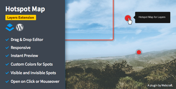 Hotspot Map - Image Tooltips for Layers
