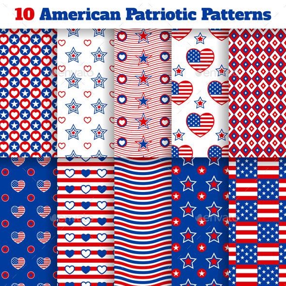 American Seamless Patterns