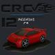 CRCPV2-12 – Cartoon Race Car Pack V2 12 - 3DOcean Item for Sale