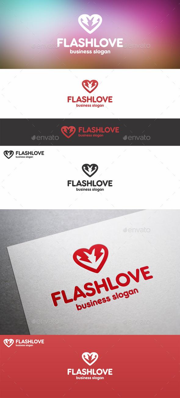 Electric Flash Love Thunder Logo