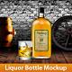 Liquor Bottle Mockup - GraphicRiver Item for Sale