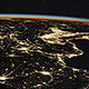 Earth from Space at Night - VideoHive Item for Sale