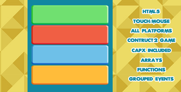 Tap the Right Color HTML5 Game