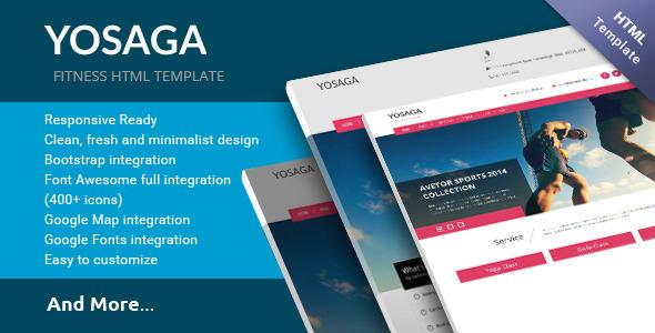 Yosaga HTML Template