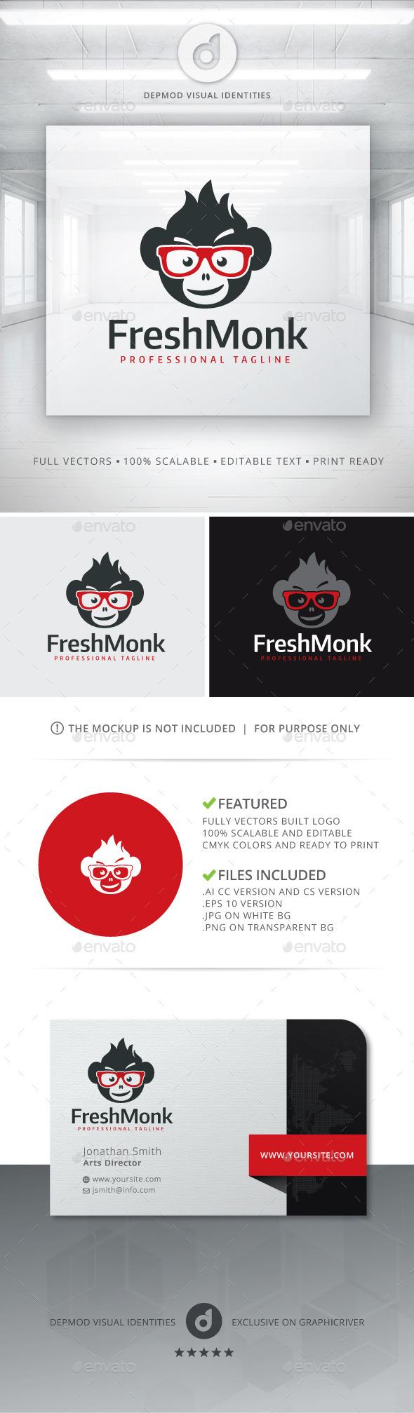 Fresh Monk Logo