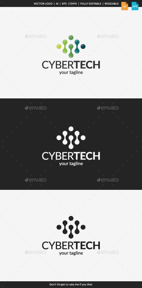 Cyber Tech Logo Template