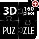 3D Customizable Puzzle Set (16x10) - 3DOcean Item for Sale