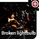 Broken 3D lightbulb - 3DOcean Item for Sale