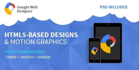 Google Web Design | HTML 5 Animated Banner Two Download