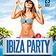 Ibiza Flyer Party - GraphicRiver Item for Sale