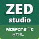 ZED - Premium Portfolio and Business HTML Template - ThemeForest Item for Sale