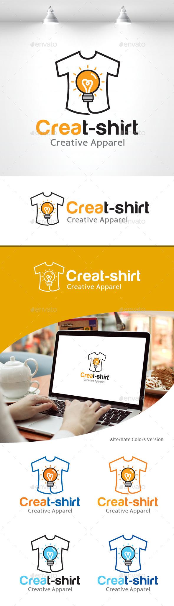 Creative T-shirt Logo