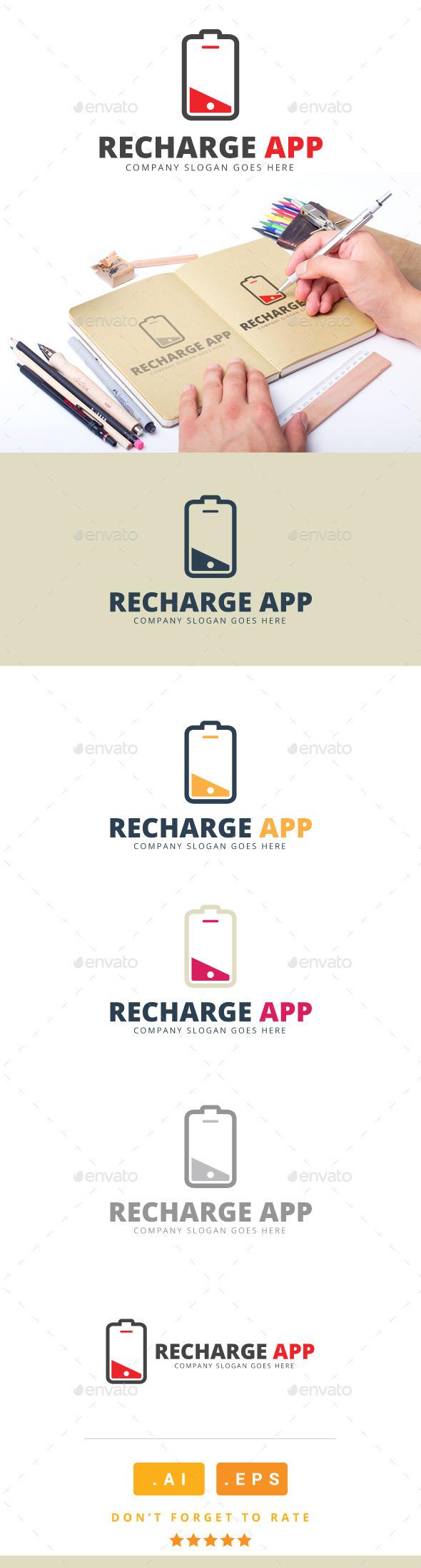 Recharge App Logo