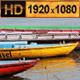Boats on Ganges River Varanasi - VideoHive Item for Sale
