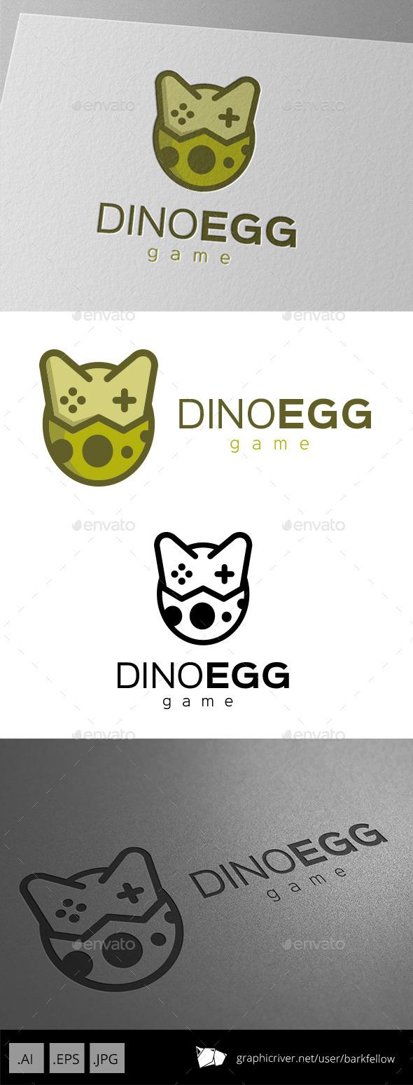 Dinosaurs Egg Logo Design