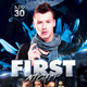 First Night Flyer Template - GraphicRiver Item for Sale
