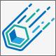 Falling Cube Logo Design - GraphicRiver Item for Sale