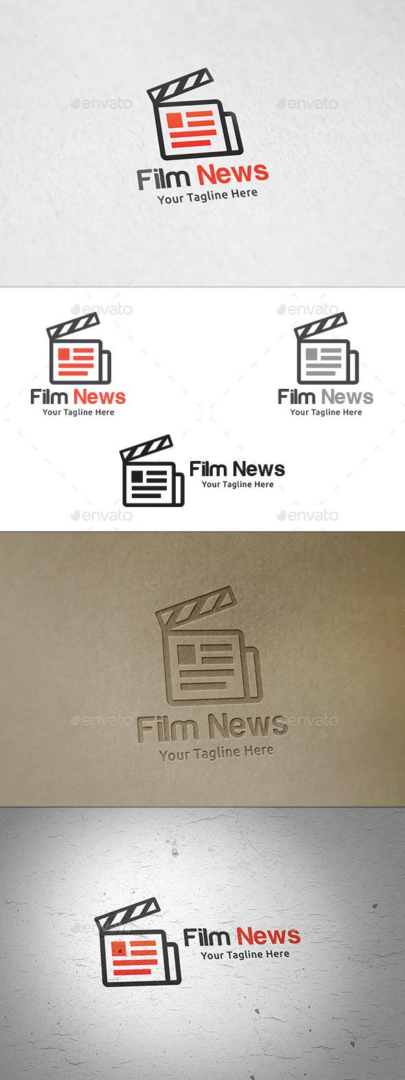 Film News - Logo Template