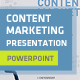 Clean Content Marketing Presentation - GraphicRiver Item for Sale