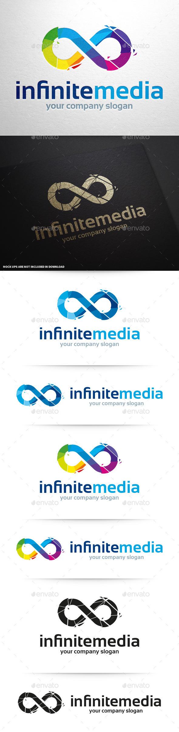 Infinite Media Logo Template