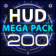 HUD Elements Mega Pack - VideoHive Item for Sale