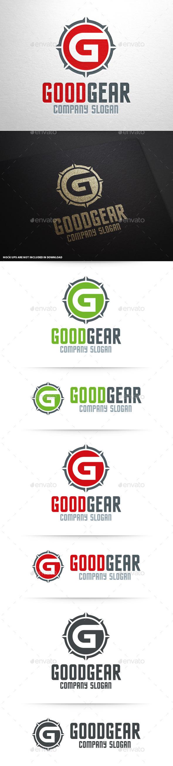 Good Gear - Letter G Logo