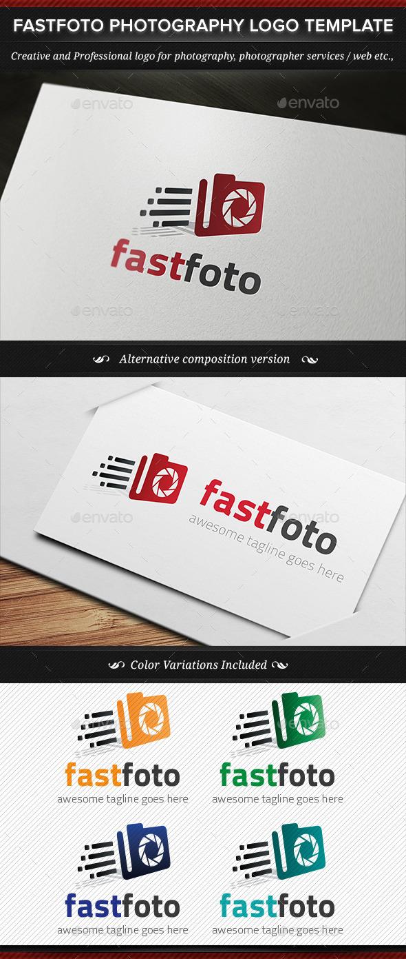 Fastfoto Photography Logo Template