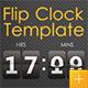 Flip Clock Template - VideoHive Item for Sale