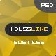 BusinessLine - Onepage Business .PSD Theme - ThemeForest Item for Sale