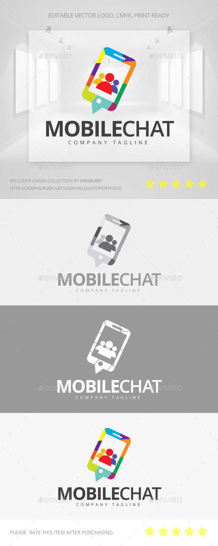 Mobile Chat Logo