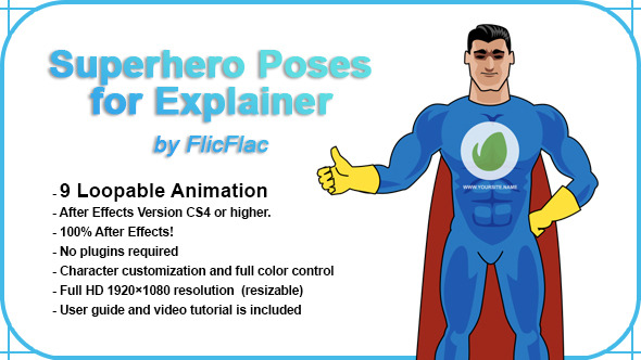Cartoon After Effects Templates from VideoHive