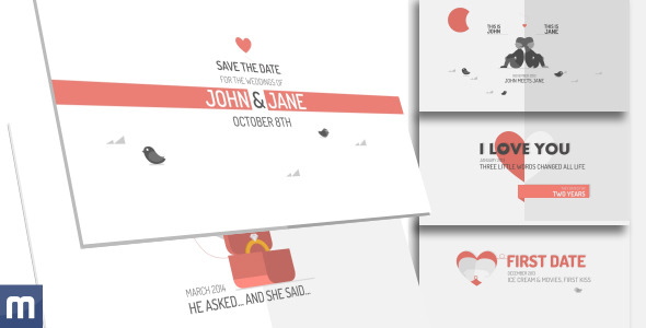 Free Download Invitation After Effects Templates