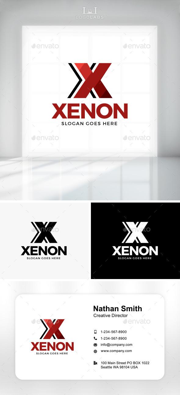 Xenon - Letter X Logo