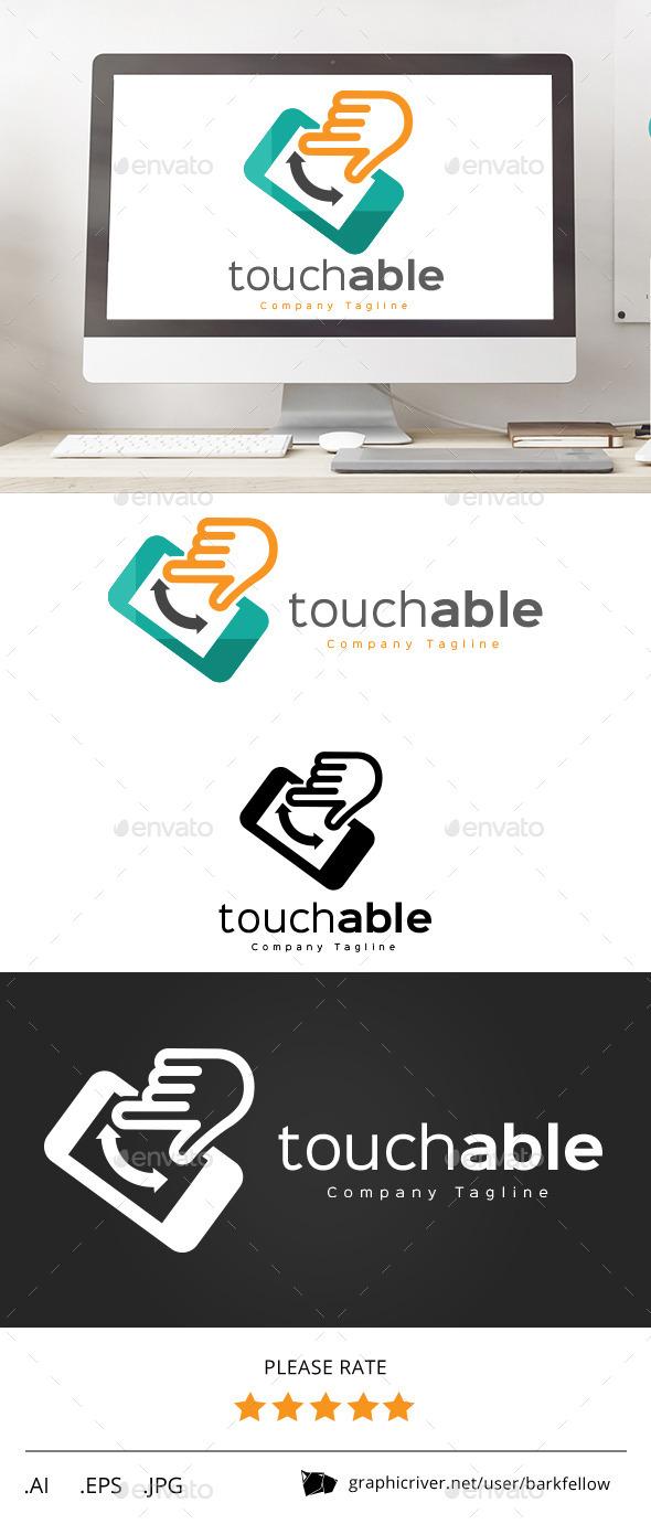 Touchable Phone Logo