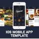 Slade Restaurant iOS Mobile App Template - GraphicRiver Item for Sale
