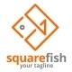 Square Fish Logo - GraphicRiver Item for Sale