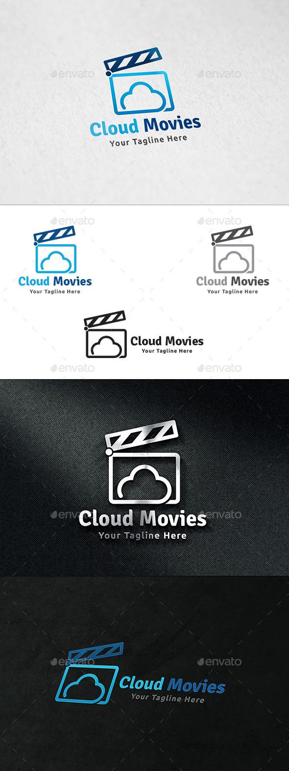 Cloud Movies - Logo Template