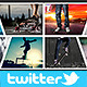 Twitter Photo Collage Header V3 - GraphicRiver Item for Sale