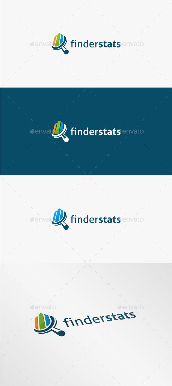 Finder Stats - Logo Template