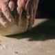 Hands Kneading a Dough - VideoHive Item for Sale
